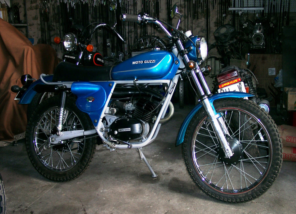 50 Cross - moto terminée